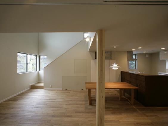 ハイサイドライトのある横浜の家
