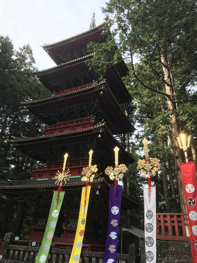 日光東照宮5重の塔