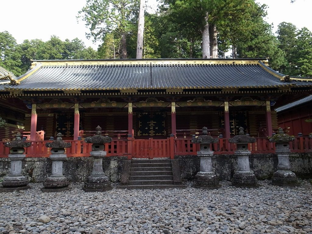 日光東照宮中神庫