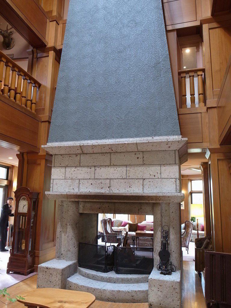 中禅寺金谷ホテル暖炉
