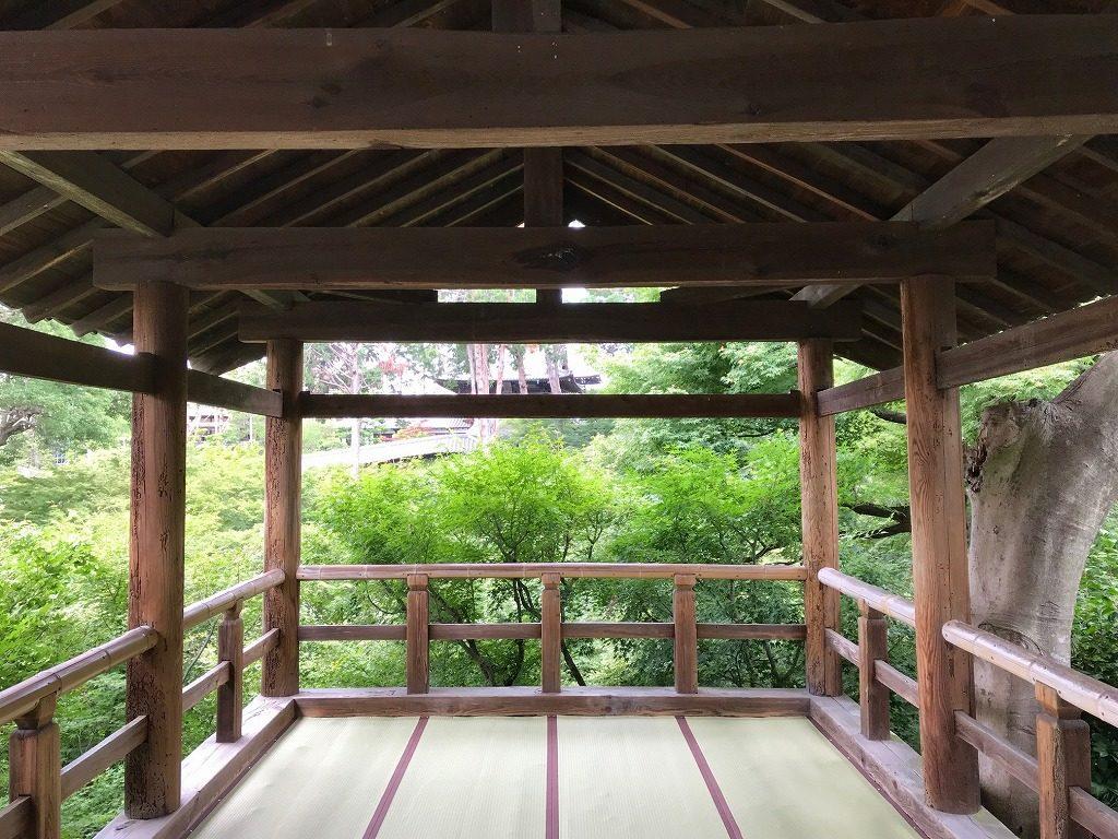 東福寺 通天台