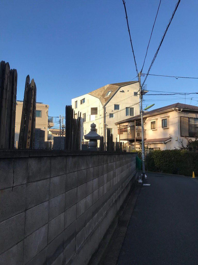 用賀十字路の集合住宅