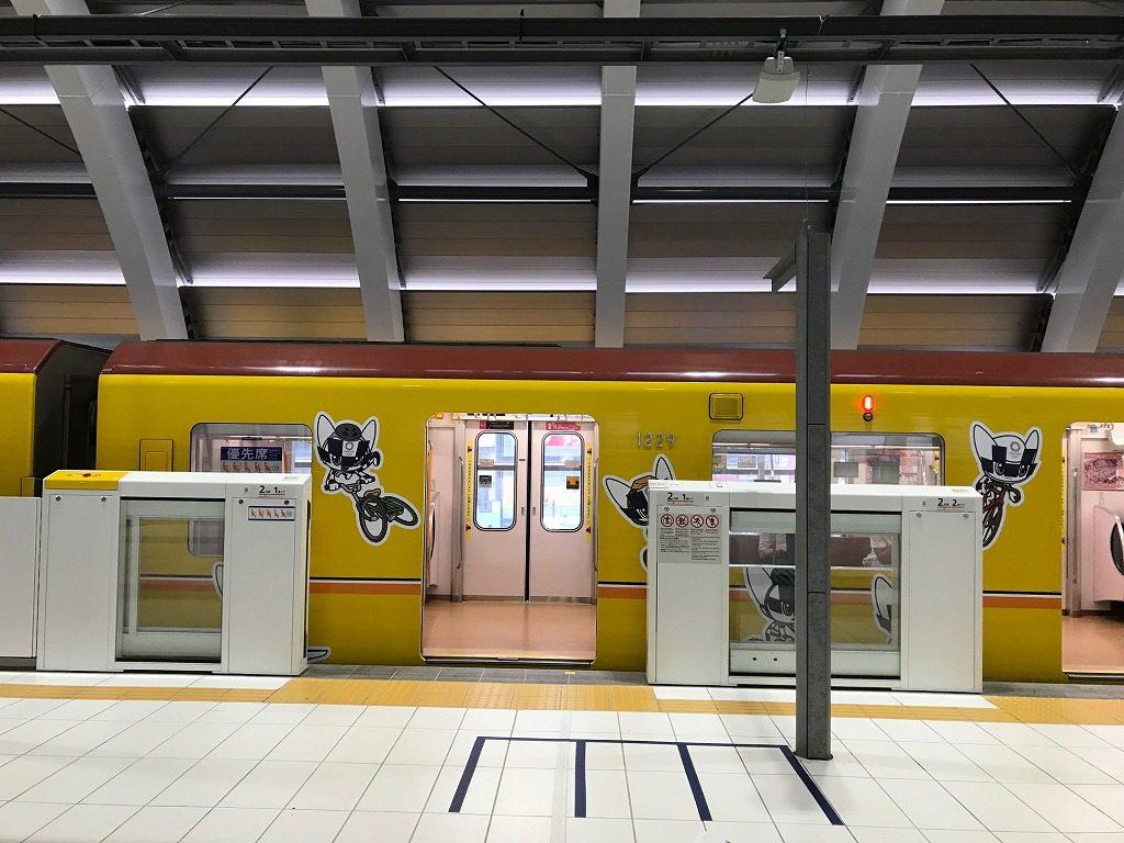 銀座線渋谷駅